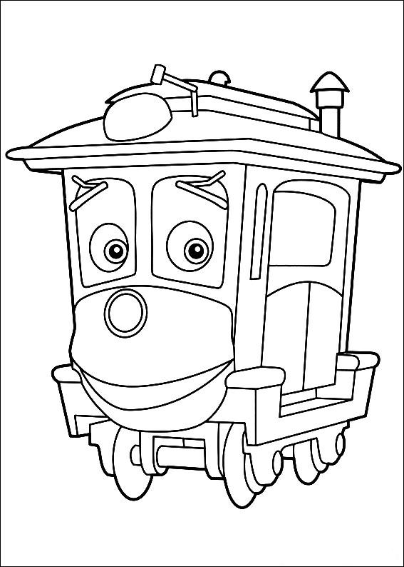Kids-n-fun.de | 24 Ausmalbilder von Chuggington