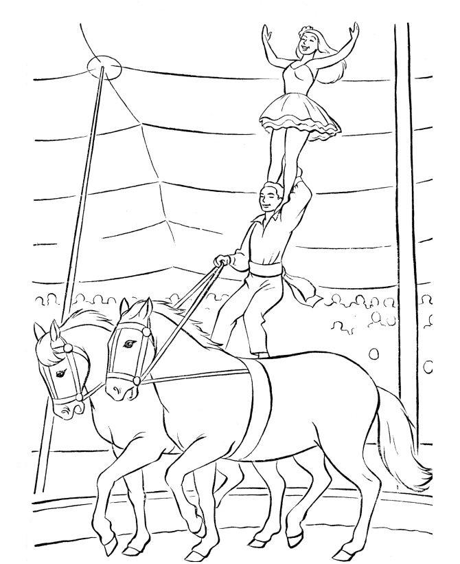 kids-n-fun.de | 39 ausmalbilder von zirkus
