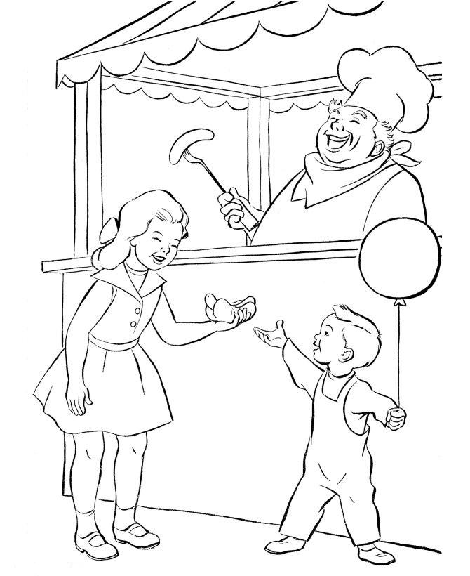 kidsnfunde  malvorlage zirkus zirkus