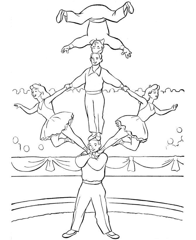 kids-n-fun.de   39 ausmalbilder von zirkus