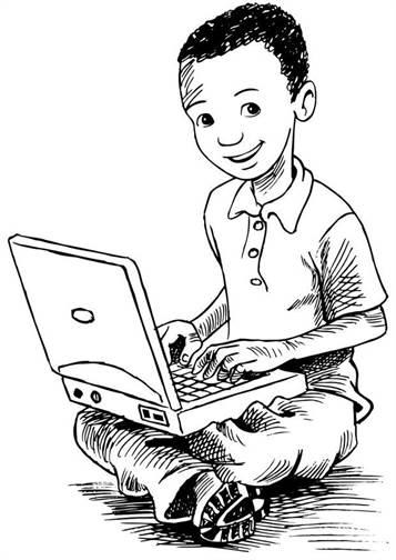 kidsnfunde  24 ausmalbilder von computer