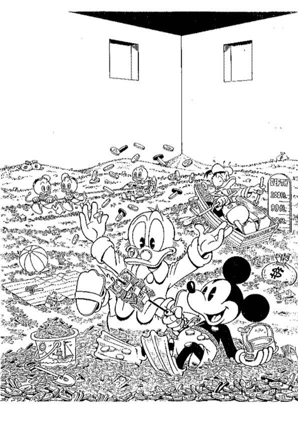 Donald Duck Junior Kleurplaten.Kleurplaat Donald Duck Pokket Kids N Fun De 24 Ausmalbilder Von