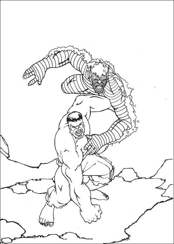 kidsnfunde  malvorlage hulk hulk