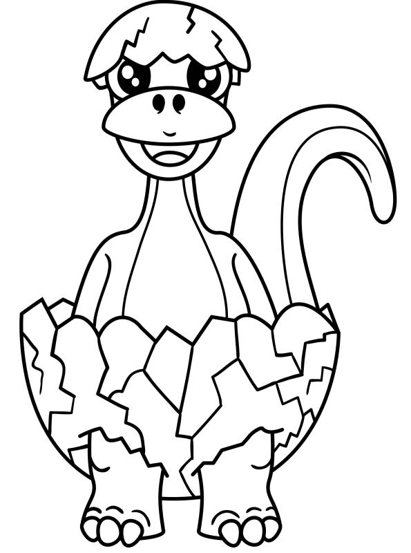 kidsnfunde  malvorlage dino kinder aus dem ei