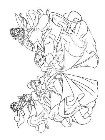 Kids N Fun De 33 Ausmalbilder Von Disney Prinzessinnen