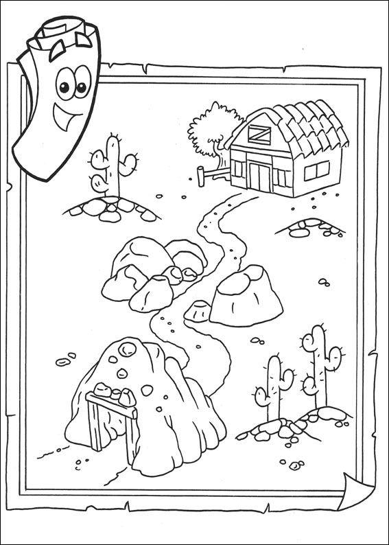 Ziemlich Dora Und Freunde Zum Ausdrucken Zeitgenössisch - Framing ...