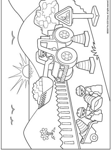 Kids N Funde 11 Ausmalbilder Von Lego Duplo