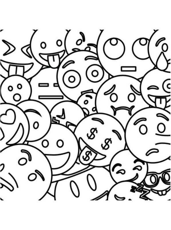 kidsnfunde  25 ausmalbilder von emoji movie