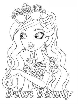 Kids N Fun De 49 Ausmalbilder Von Ever After High