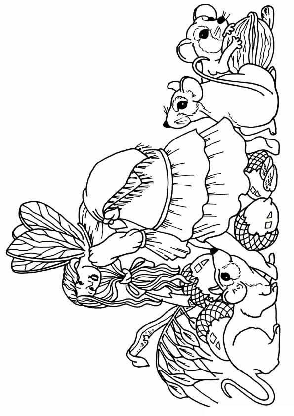 kidsnfunde  malvorlage elfen elfen