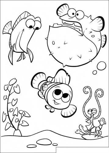 Kids N Fun De 65 Ausmalbilder Von Findet Nemo Film