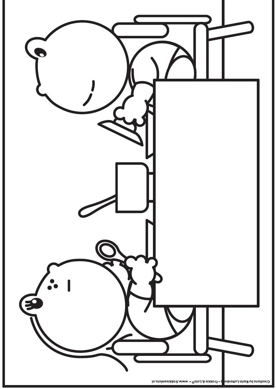 kids-n-fun.de   malvorlage frokkie und lola frokkie und lola