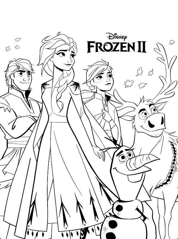 kidsnfunde  malvorlage frozen 2 frozen 2
