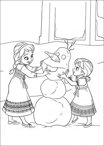 Kids N Fun De 35 Ausmalbilder Von Die Eiskonigin