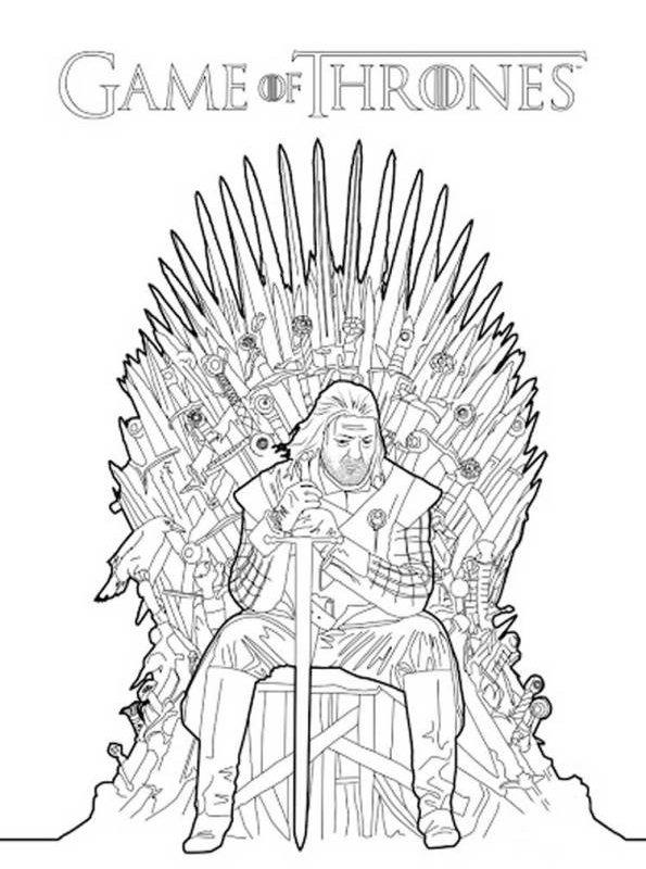 kidsnfunde  malvorlage game of thrones game of thrones