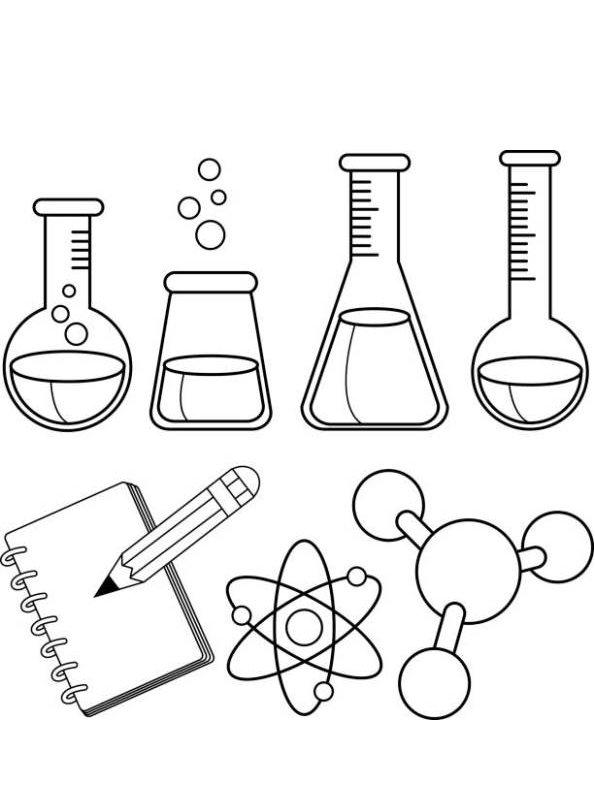 kidsnfunde  malvorlage werkzeuge wissenschaftliche