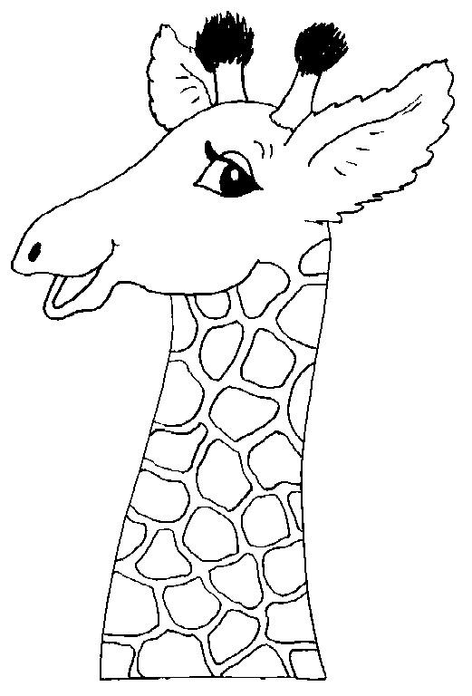 Kids-n-fun.de | 45 Ausmalbilder von Giraffe