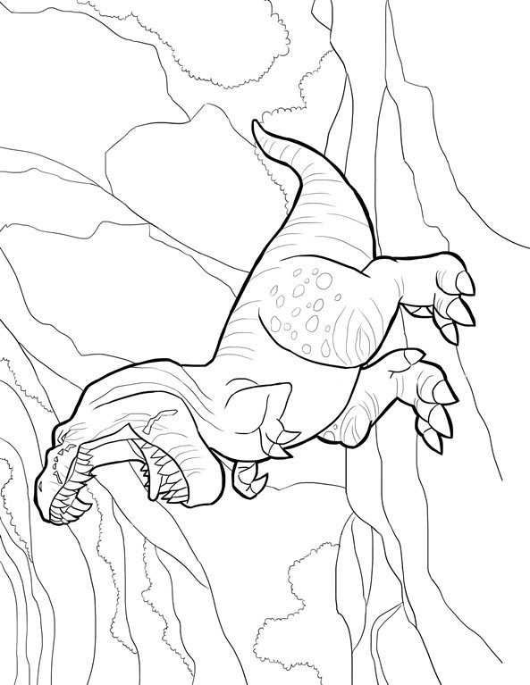 Kids-n-fun.de | 25 Ausmalbilder von Good Dinosaur