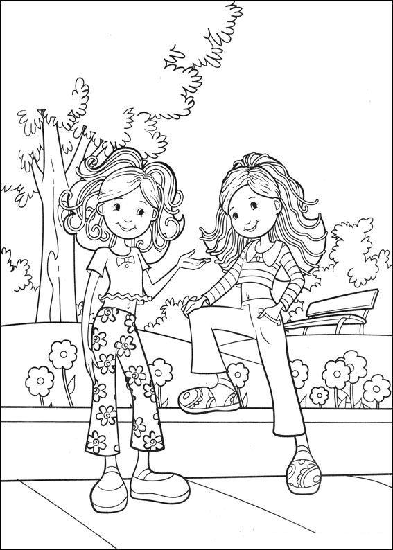 Kids-n-fun.de | 65 Ausmalbilder von Groovy Girls