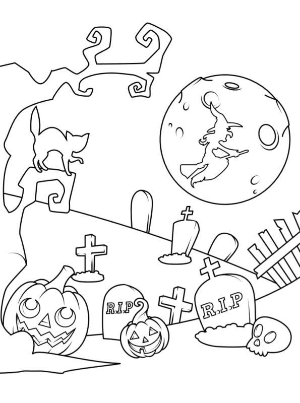 kidsnfunde  malvorlage halloween kids halloween kids