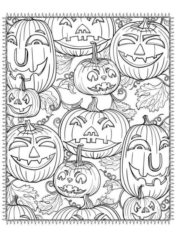 kidsnfunde  malvorlage halloween für erwachsene halloween