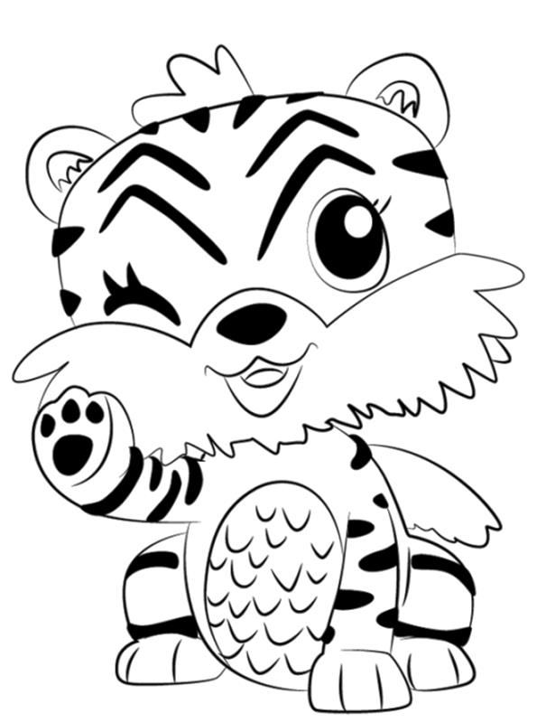 kidsnfunde  malvorlage hatchimals tiger