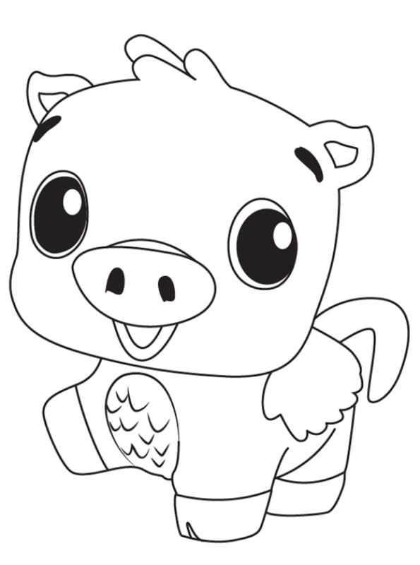 kidsnfunde  malvorlage hatchimals schwein
