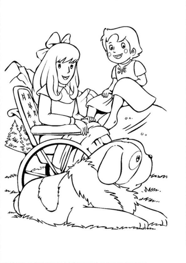 Kids N Fun De 17 Ausmalbilder Von Heidi