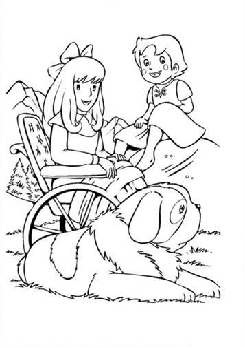 Kids N Funde 17 Ausmalbilder Von Heidi