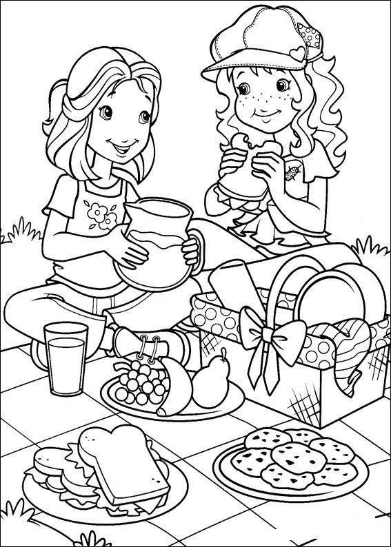 Ziemlich Picknickkorb Malvorlagen Fotos - Framing Malvorlagen ...