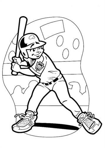 kidsnfunde  22 ausmalbilder von baseball