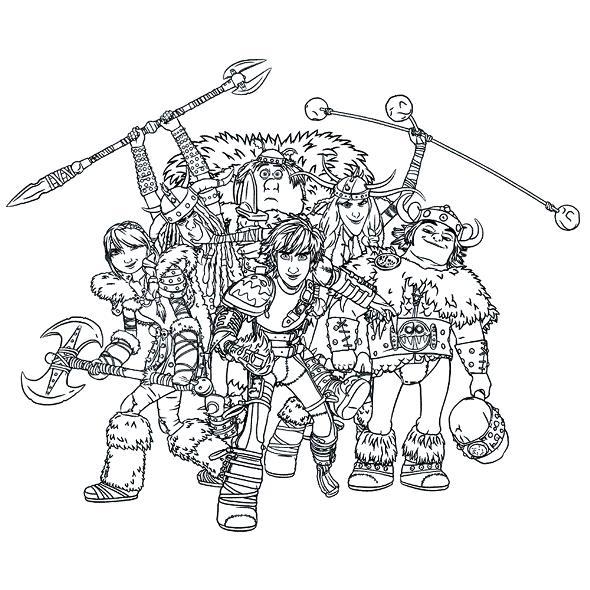 kidsnfunde  7 ausmalbilder von drachenzähmen leicht