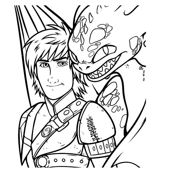 Similiar How To Train Your Dragon Coloring Pages 3 Keywords