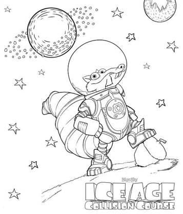 Kids N Fun De 7 Ausmalbilder Von Ice Age Kollision Voraus