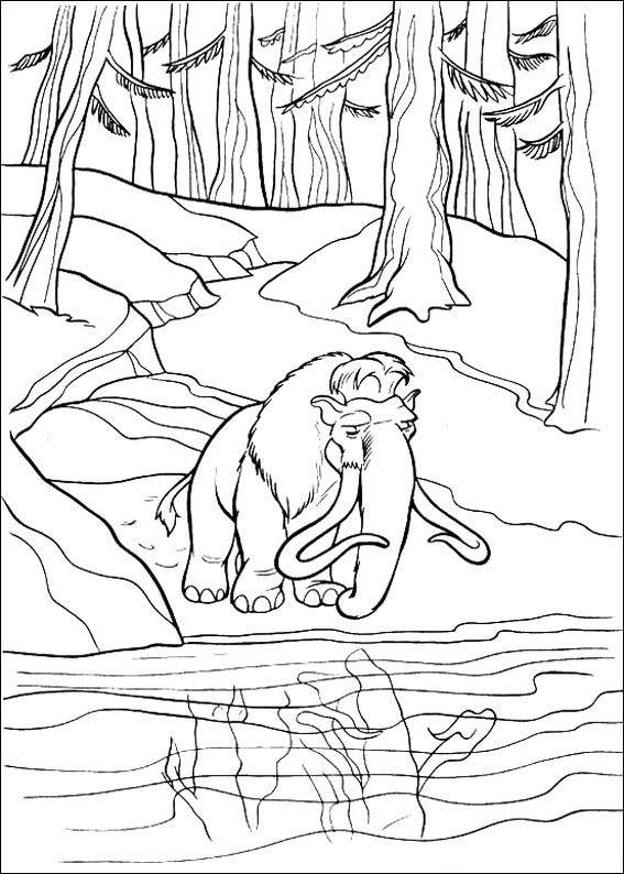 Kidsnfunde  34 Ausmalbilder von Ice Age 2