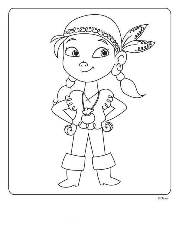 Kids n 9 ausmalbilder von jake und die nimmerland for Jake the pirate coloring pages