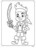 kids-n-fun   9 ausmalbilder von jake und die nimmerland piraten