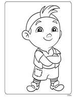 kids-n-fun   9 ausmalbilder von jake und die nimmerland