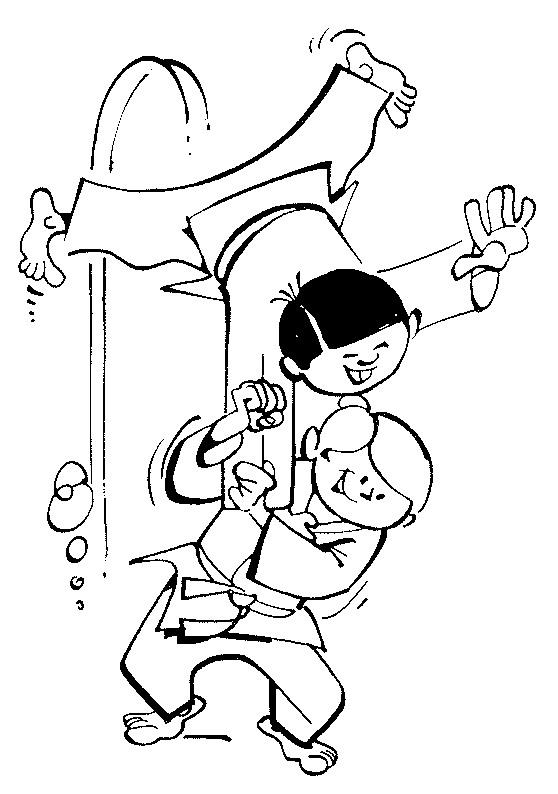 Kids N Fun De 17 Ausmalbilder Von Judo