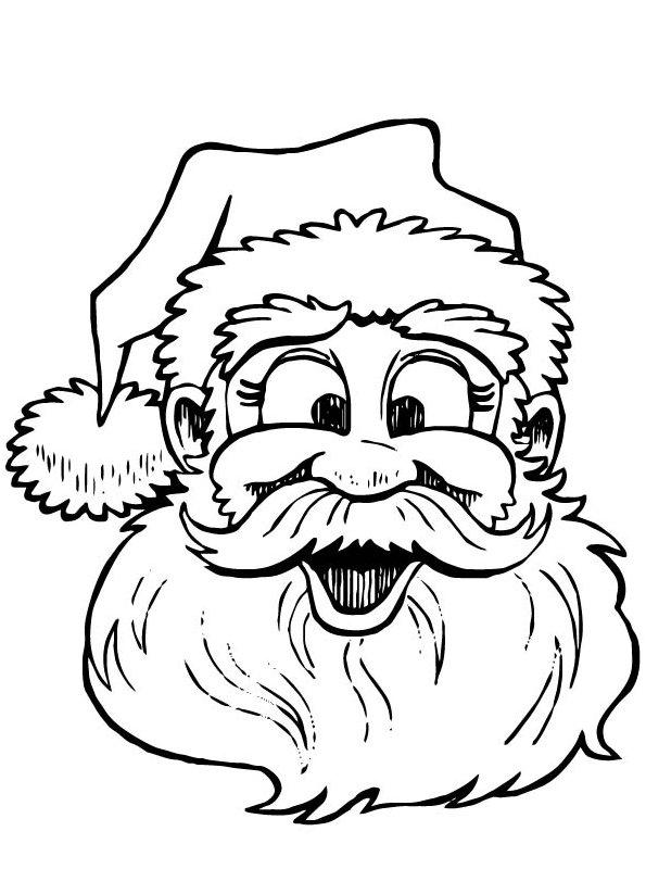 n de malvorlage weihnachten santa claus