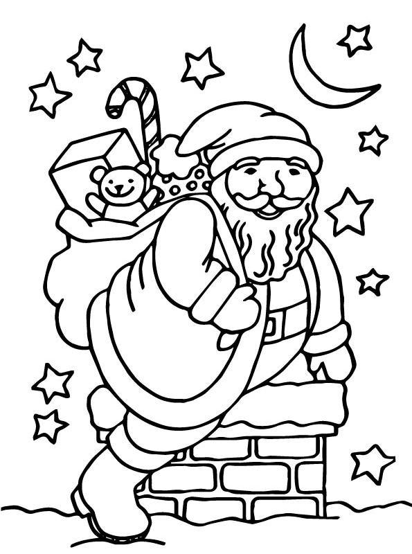 Fantastisch Santa Claus Ausmalbilder Bilder - Ideen färben ...
