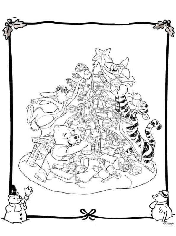 Groß Disney Weihnachten Malvorlagen Für Kinder Galerie - Beispiel ...
