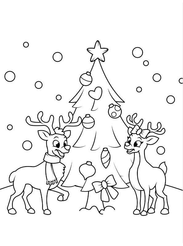 Kids N Fun De 20 Ausmalbilder Von Weihnachten Kids