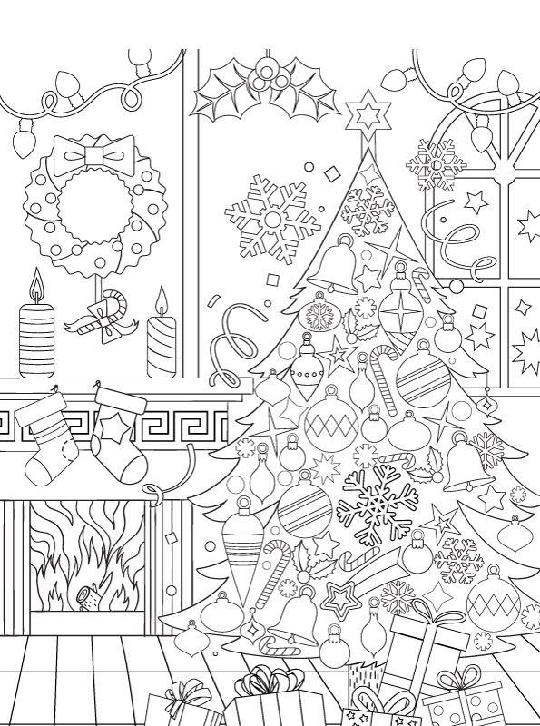 kidsnfunde  malvorlage weihnachten erwachsene