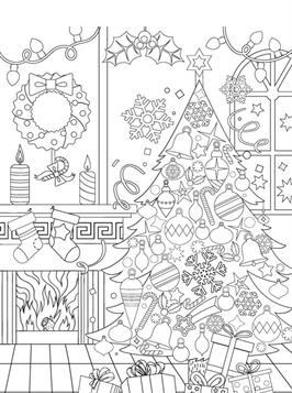 kids-n-fun.de | 14 ausmalbilder von weihnachten erwachsene