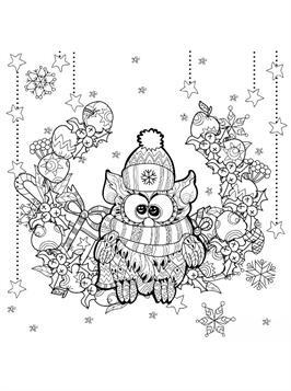 Kids N Fun De 14 Ausmalbilder Von Weihnachten Erwachsene