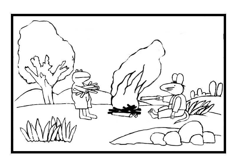 kidsnfunde  malvorlage frosch frosch