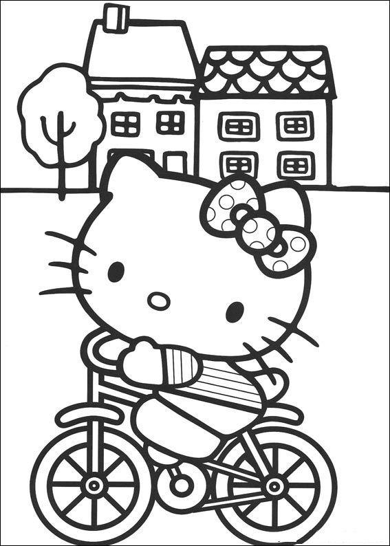Kids N Fun De 54 Ausmalbilder Von Hello Kitty