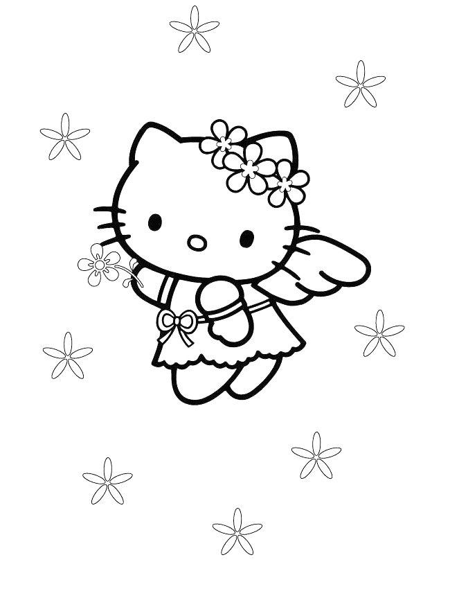 kids-n-fun.de | malvorlage hello kitty hello kitty