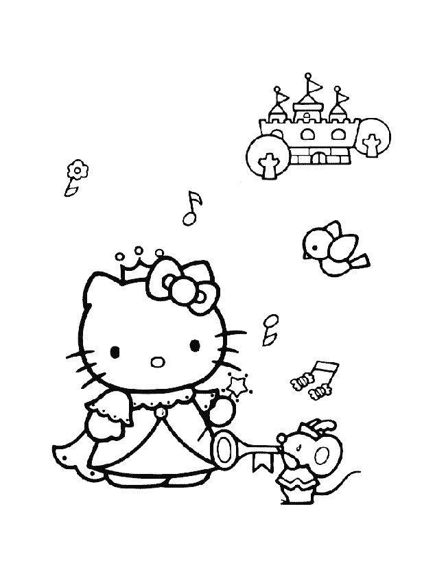 kidsnfunde  malvorlage hello kitty hello kitty